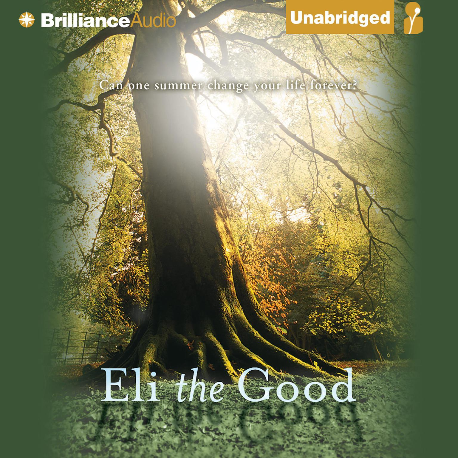 Printable Eli the Good Audiobook Cover Art