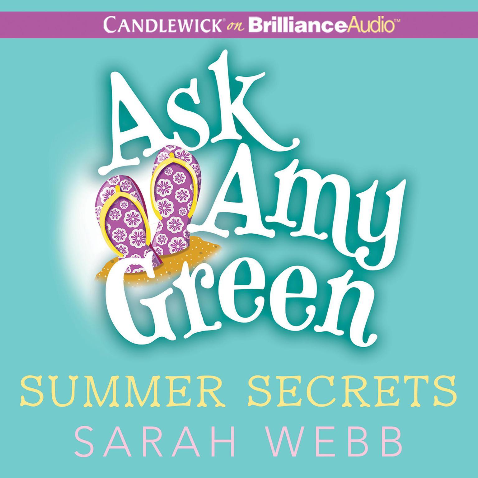 Printable Ask Amy Green: Summer Secrets Audiobook Cover Art