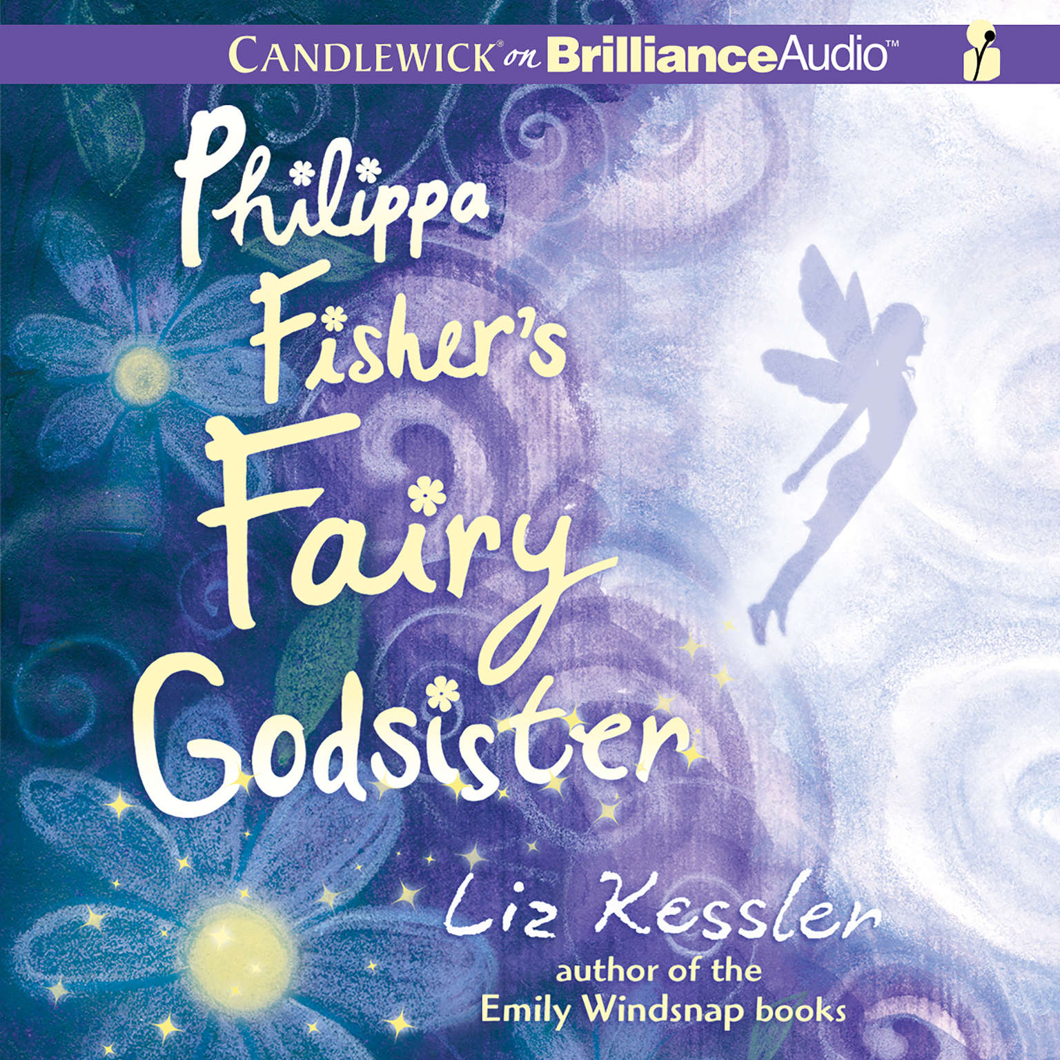 Printable Philippa Fisher's Fairy Godsister Audiobook Cover Art