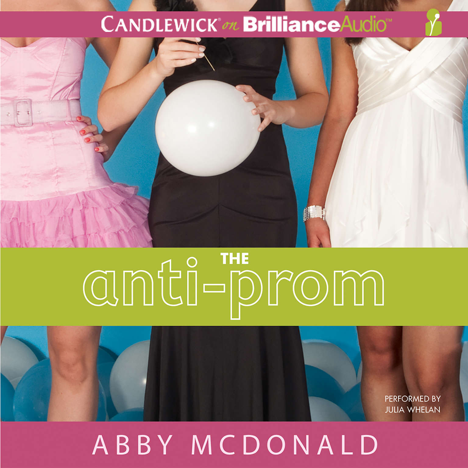 Printable The Anti-Prom Audiobook Cover Art