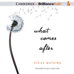 What Comes After Audiobook, by Steve Watkins
