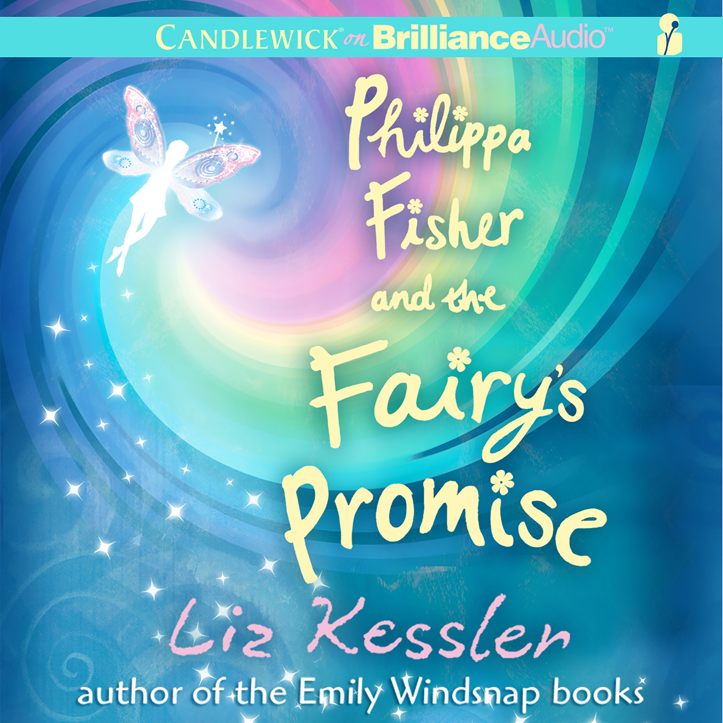 Printable Philippa Fisher and the Fairy's Promise Audiobook Cover Art