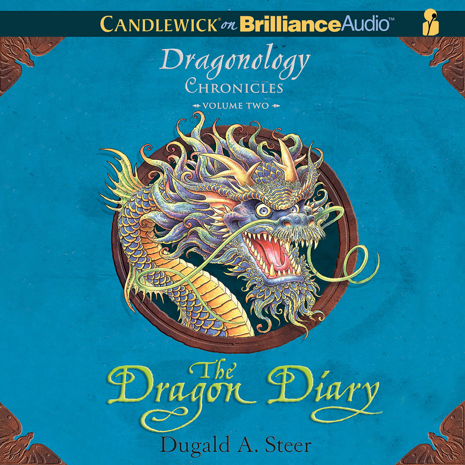 Printable The Dragon Diary: The Dragonology Chronicles, Volume 2 Audiobook Cover Art