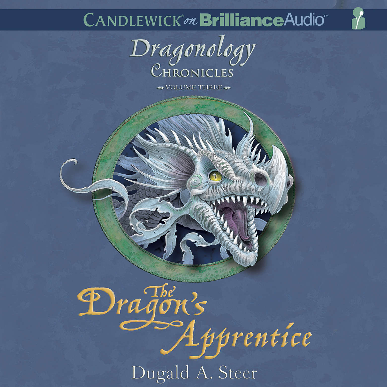 Printable The Dragon's Apprentice: The Dragonology Chronicles, Volume 3 Audiobook Cover Art