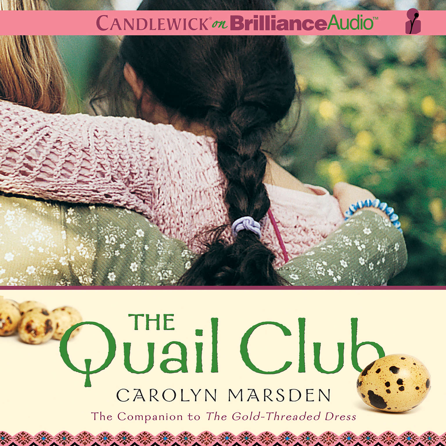 Printable The Quail Club Audiobook Cover Art