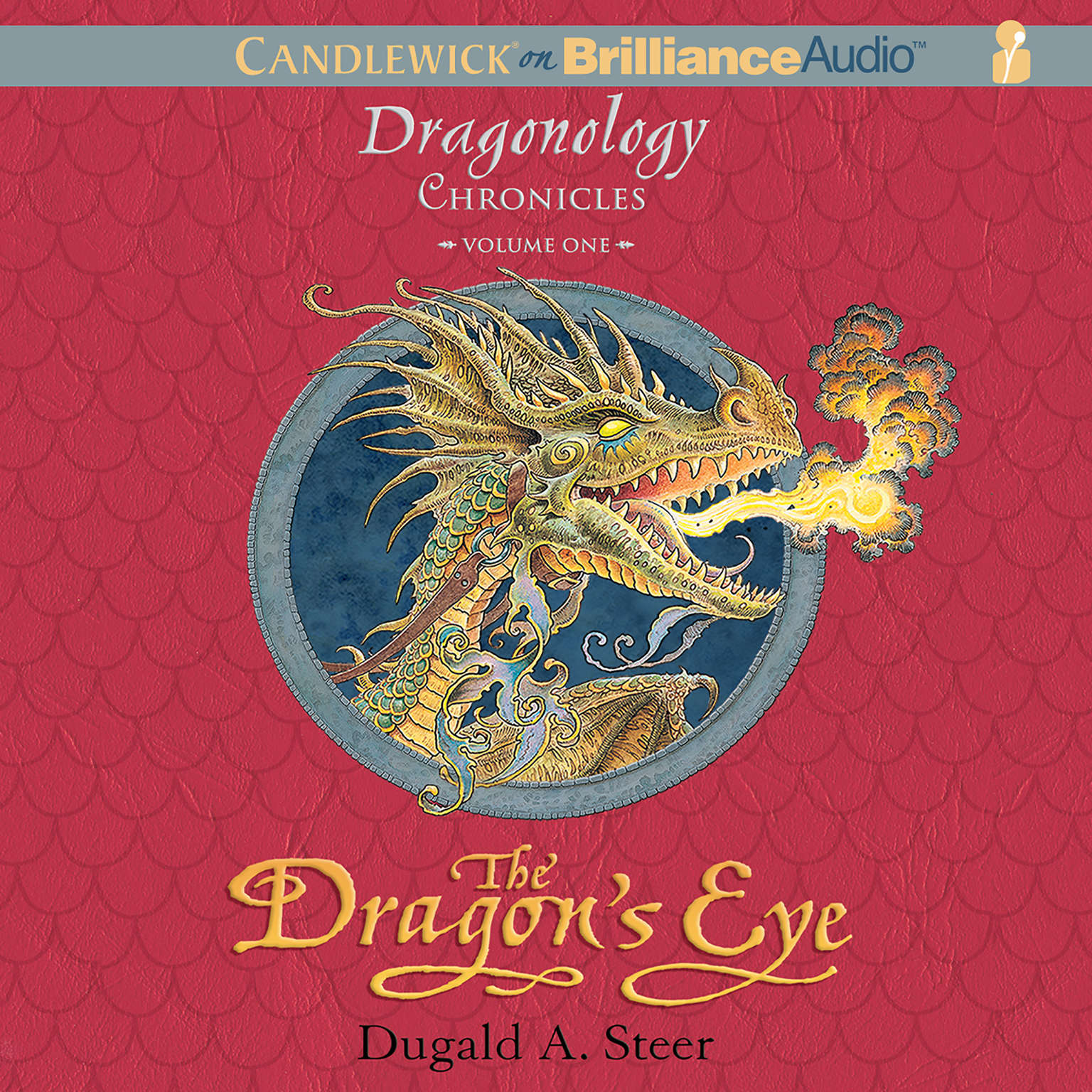 Printable The Dragon's Eye: The Dragonology Chronicles, Volume 1 Audiobook Cover Art
