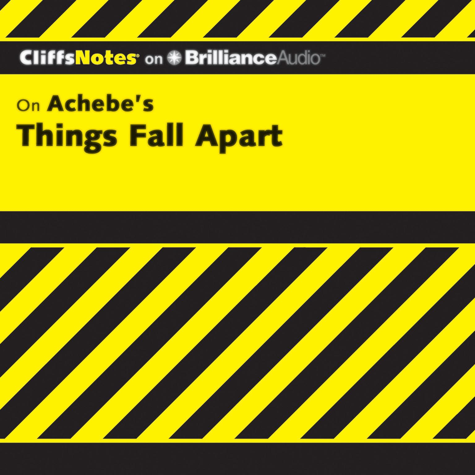 Printable Things Fall Apart Audiobook Cover Art