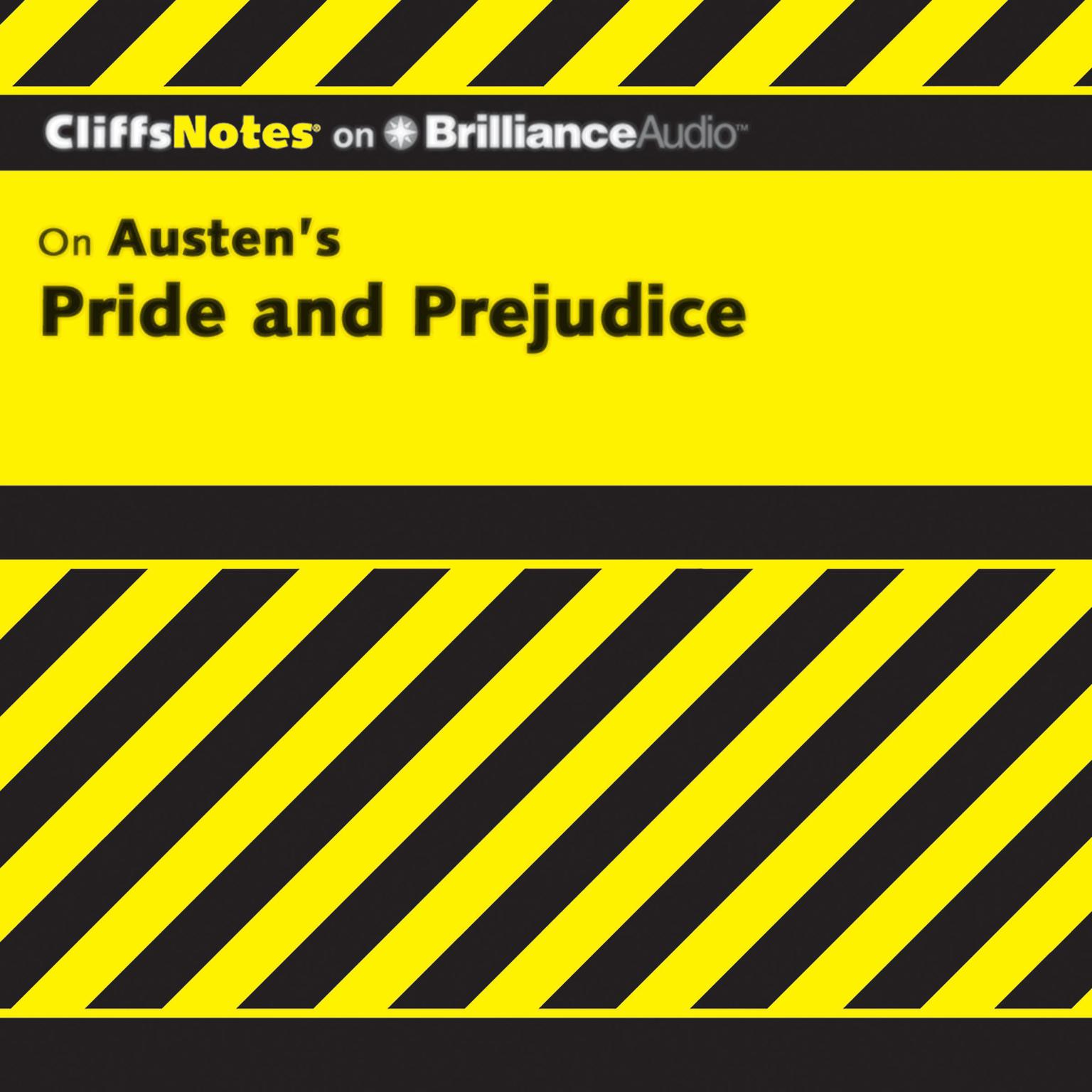 Printable On Austen's Pride and Prejudice Audiobook Cover Art