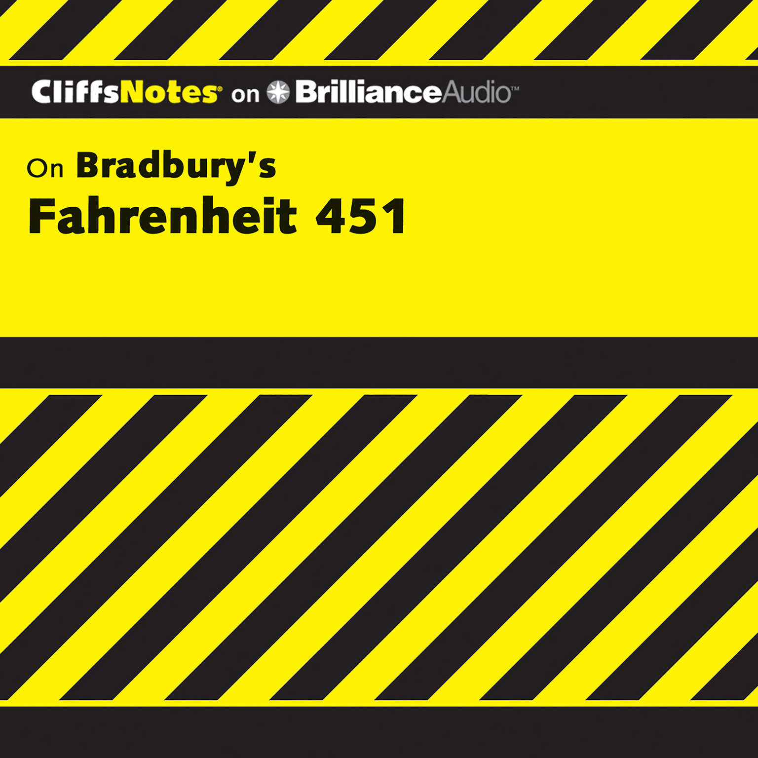 Printable Fahrenheit 451 Audiobook Cover Art