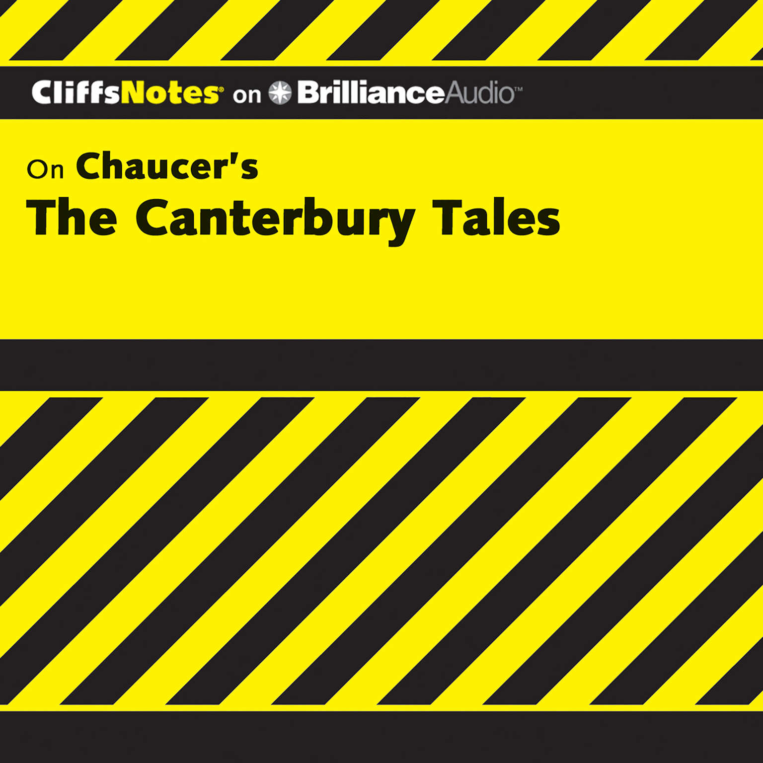Printable On Chaucer's The Canterbury Tales Audiobook Cover Art