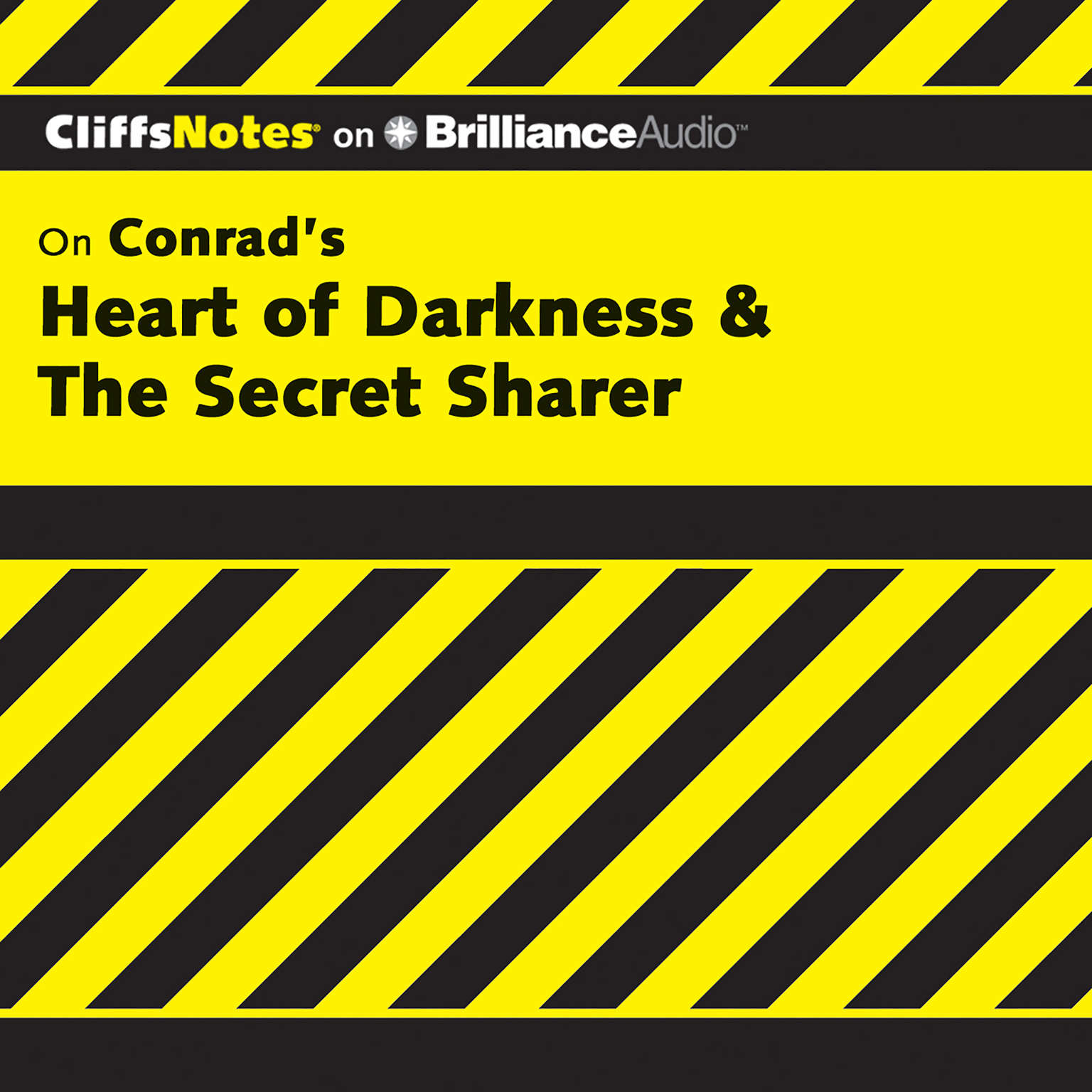 Printable On Conrad's Heart of Darkness & The Secret Sharer Audiobook Cover Art