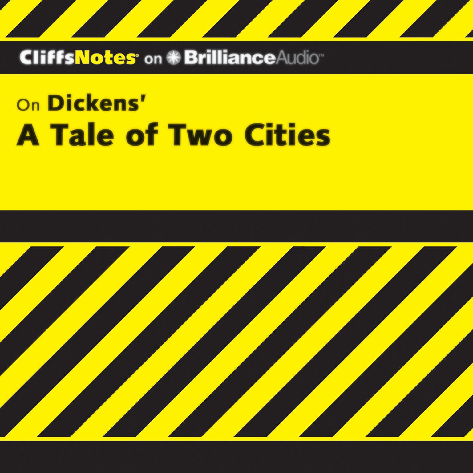 Printable On Dickens' A Tale of Two Cities Audiobook Cover Art