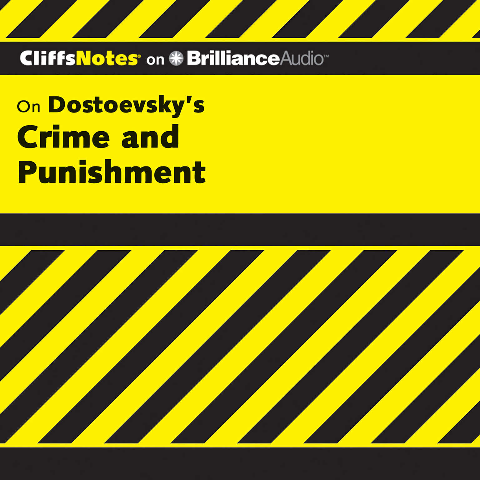 Printable On Dostoevsky's Crime and Punishment Audiobook Cover Art
