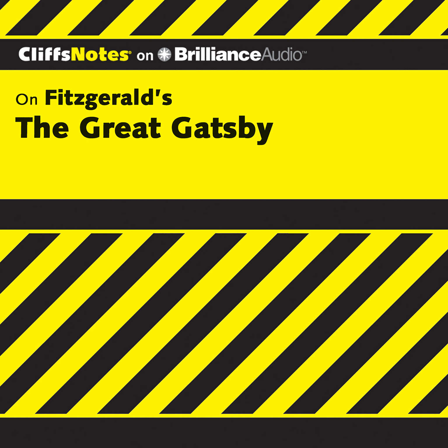 Printable On Fitzgerald's The Great Gatsby Audiobook Cover Art