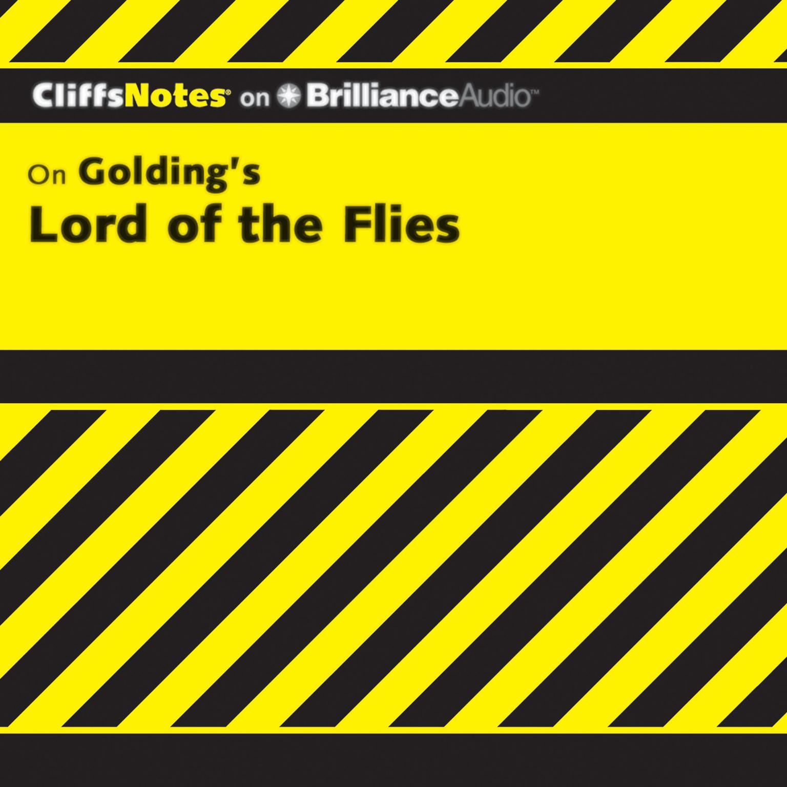 Printable On Golding's Lord of the Flies Audiobook Cover Art