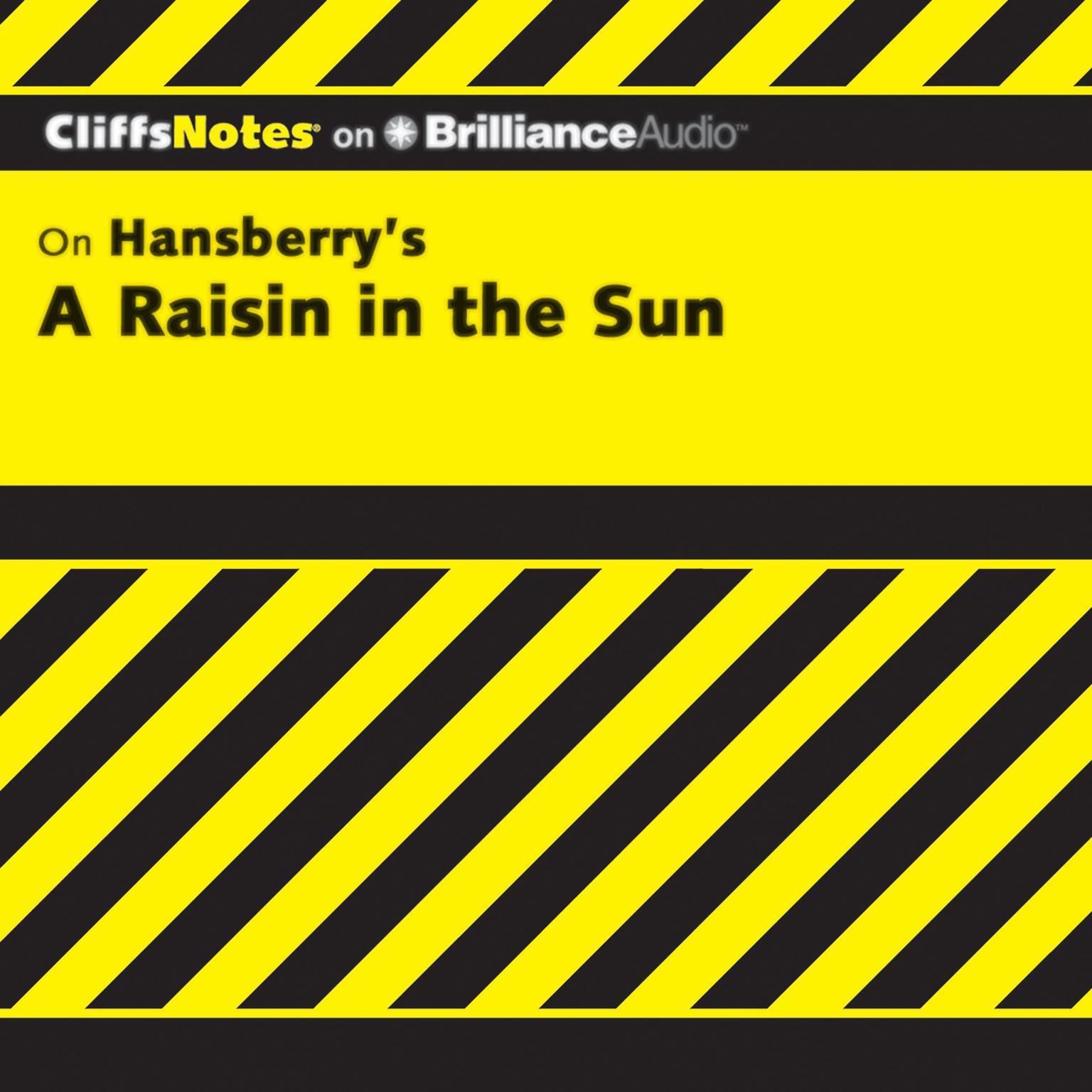 Printable A Raisin in the Sun Audiobook Cover Art