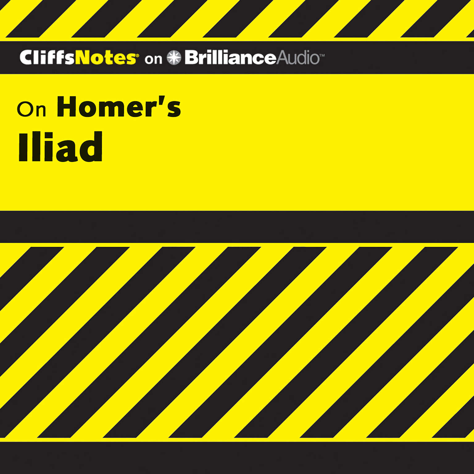 Printable Iliad Audiobook Cover Art