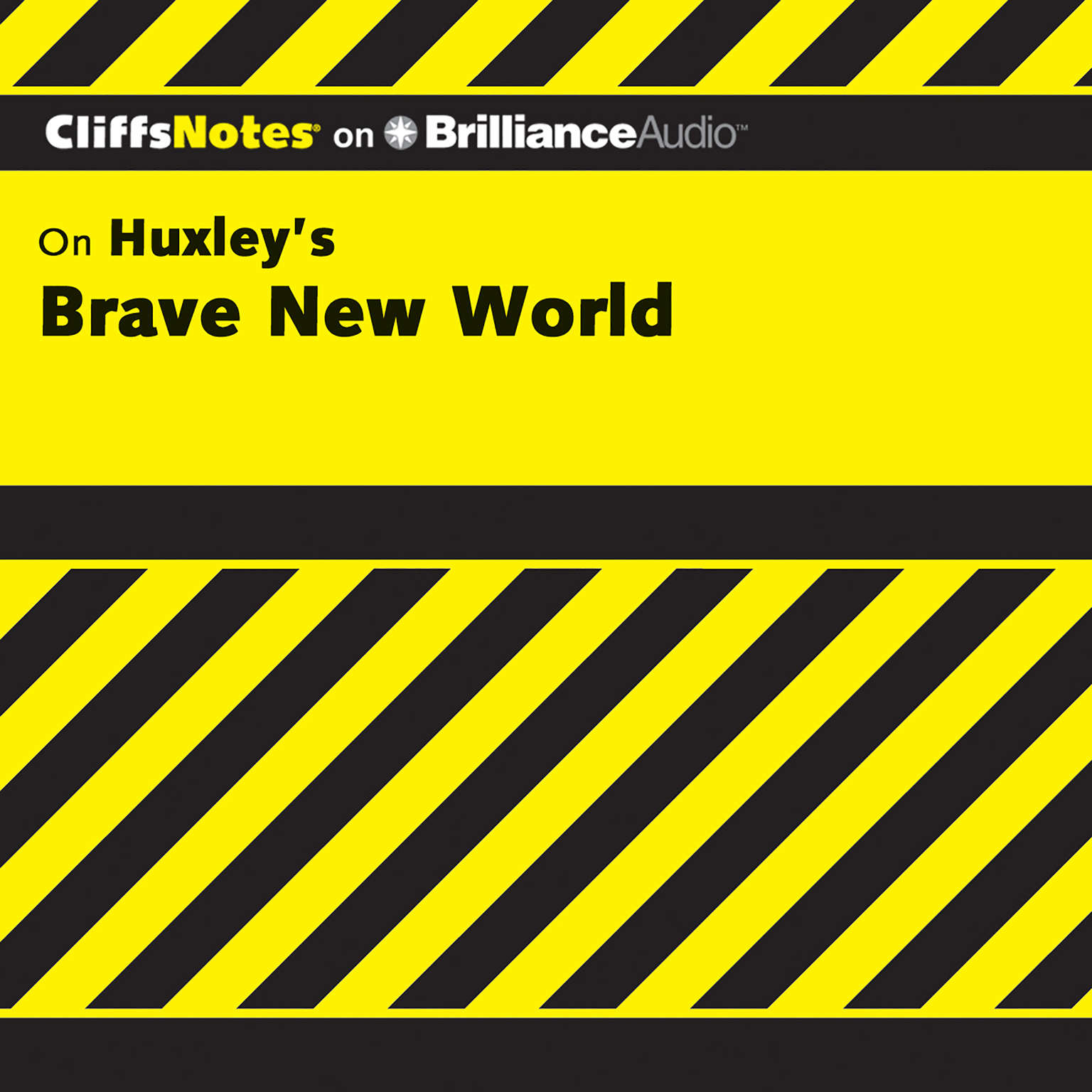 Printable Brave New World Audiobook Cover Art