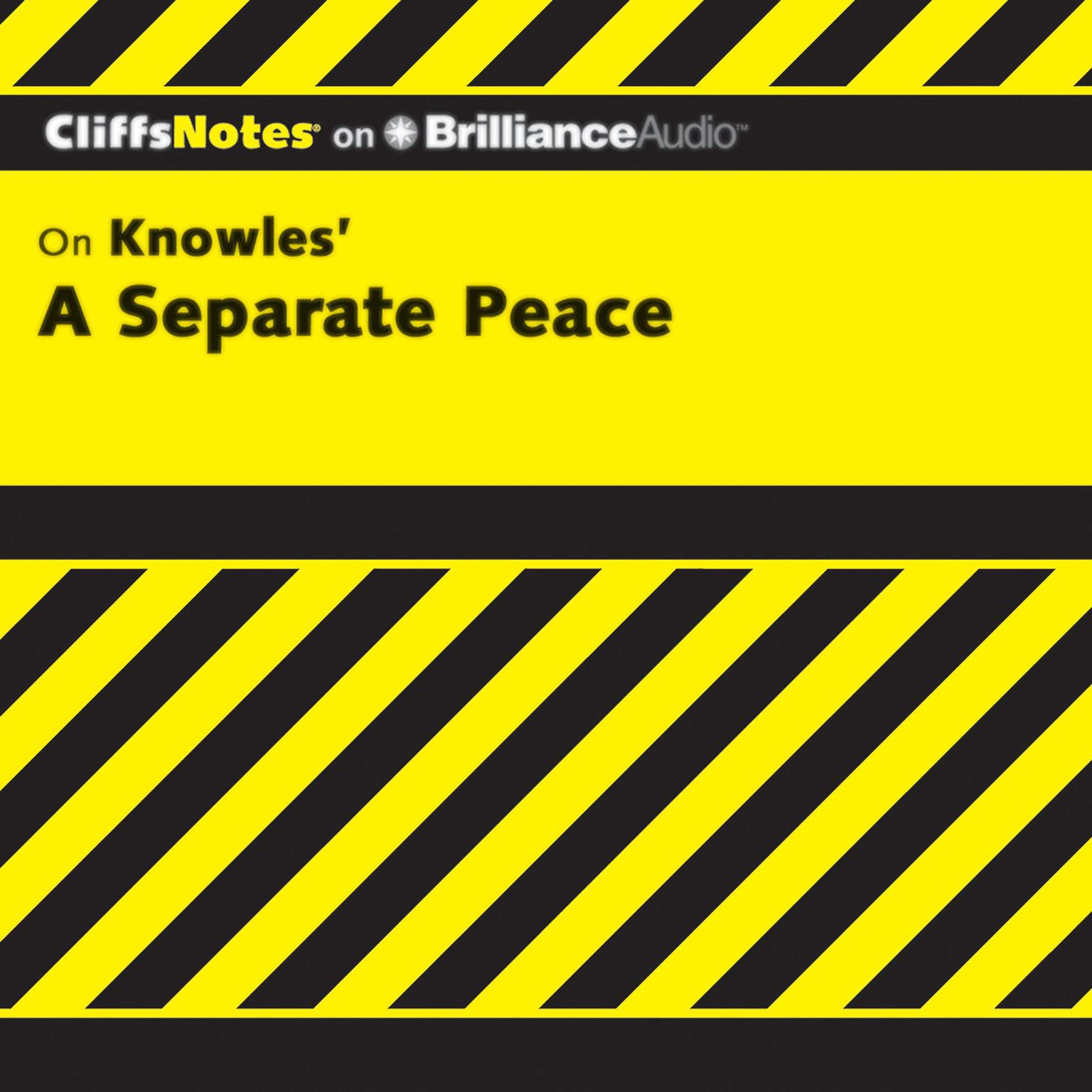 Printable A Separate Peace Audiobook Cover Art
