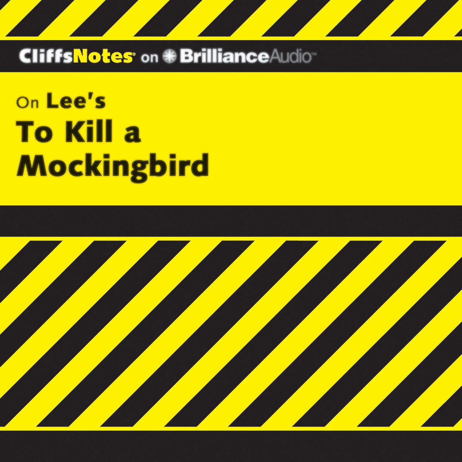 Printable On Lee's To Kill a Mockingbird Audiobook Cover Art
