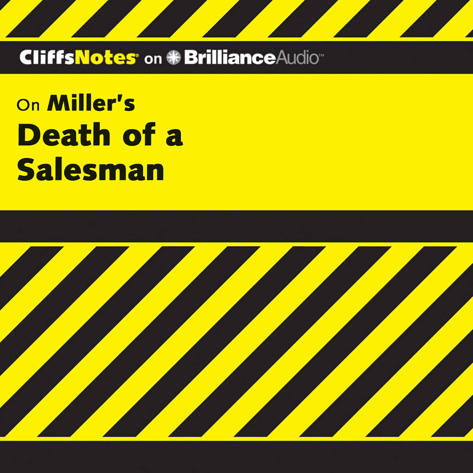 Printable On Miller's Death of a Salesman Audiobook Cover Art