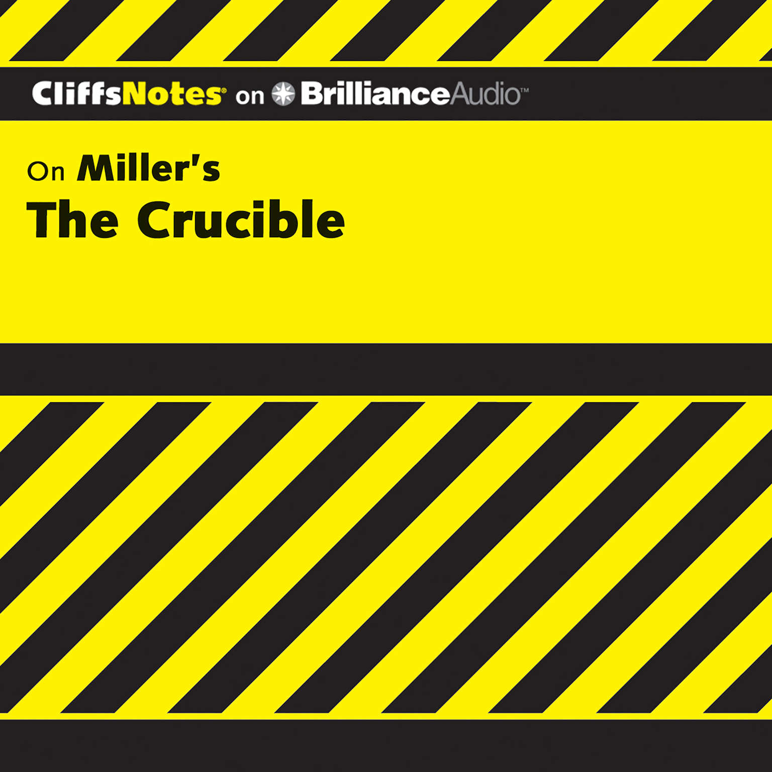 Printable The Crucible Audiobook Cover Art