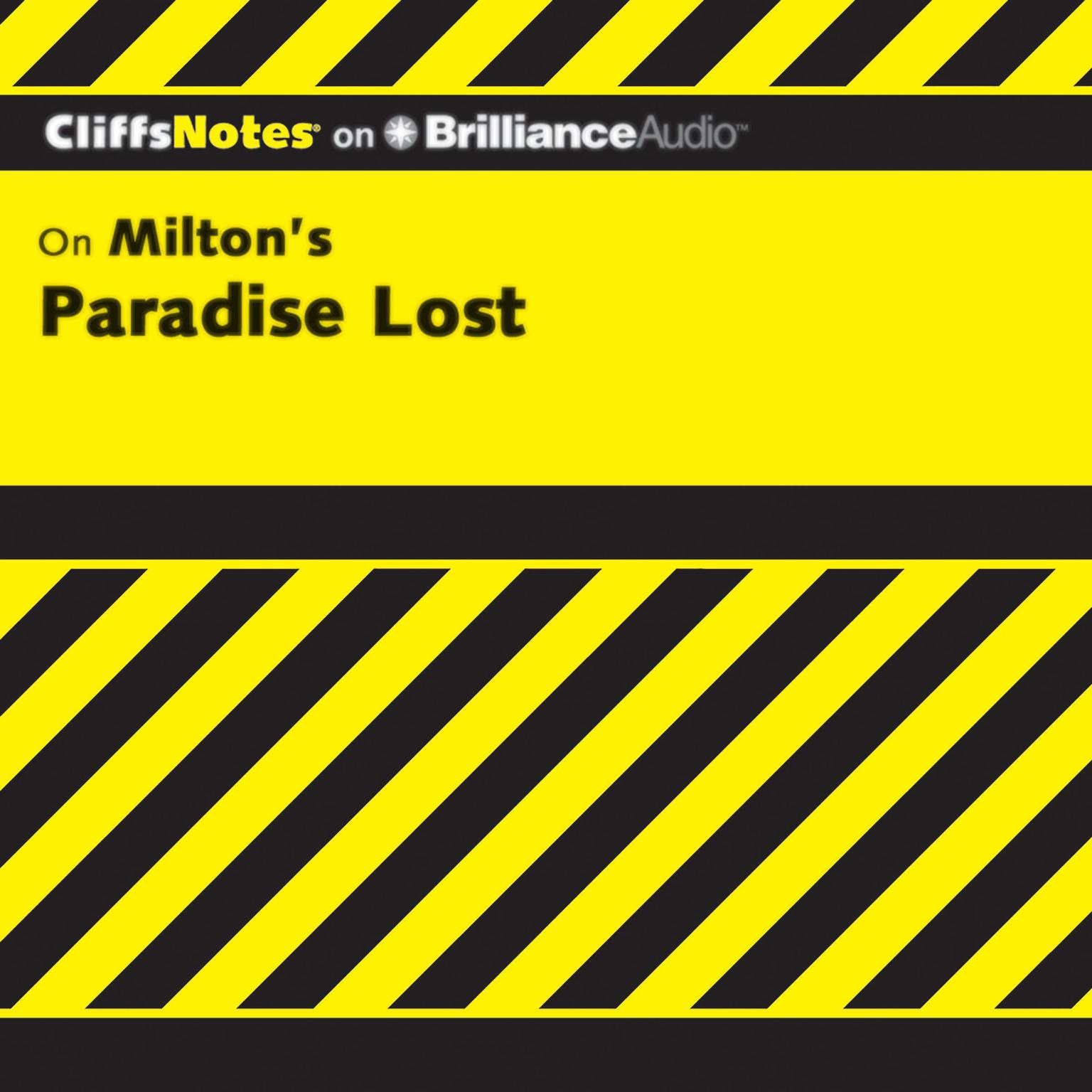 Printable On Milton's Paradise Lost Audiobook Cover Art
