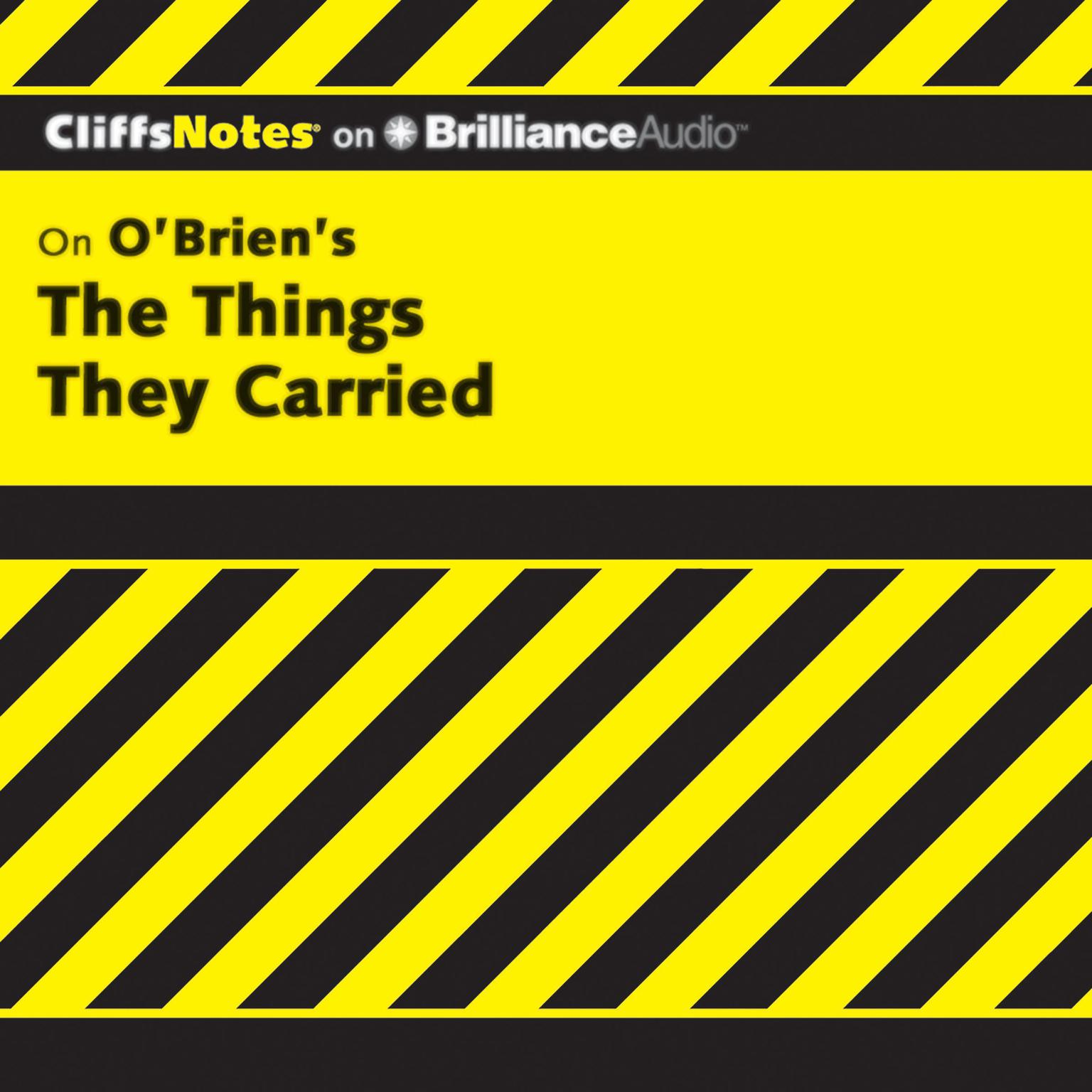 Printable The Things They Carried Audiobook Cover Art