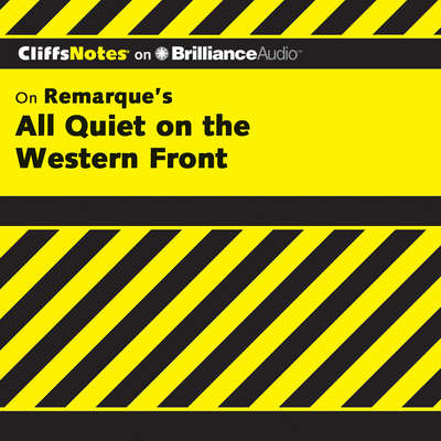 All Quiet on the Western Front Audiobook, by