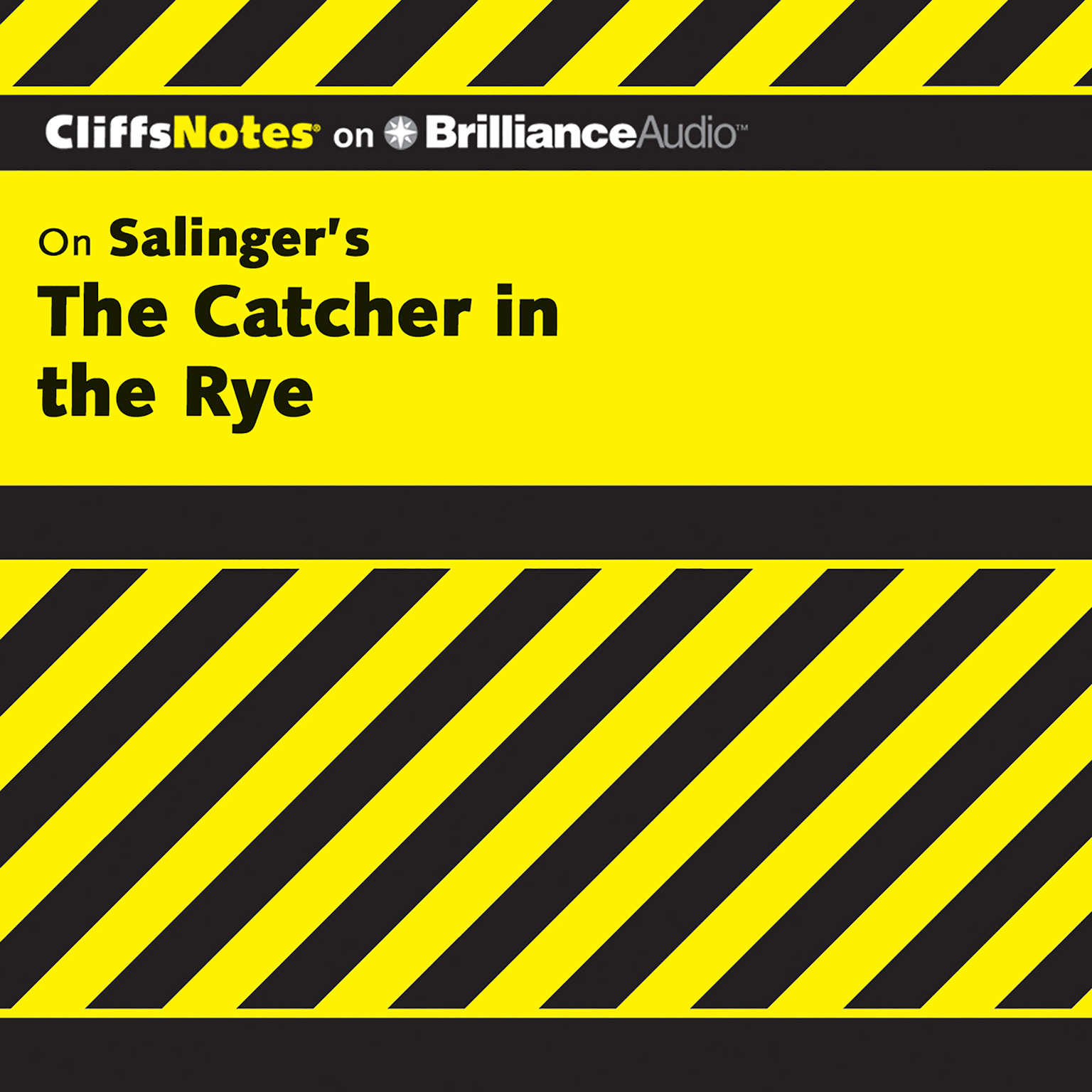 Printable On Salinger's The Catcher in the Rye Audiobook Cover Art