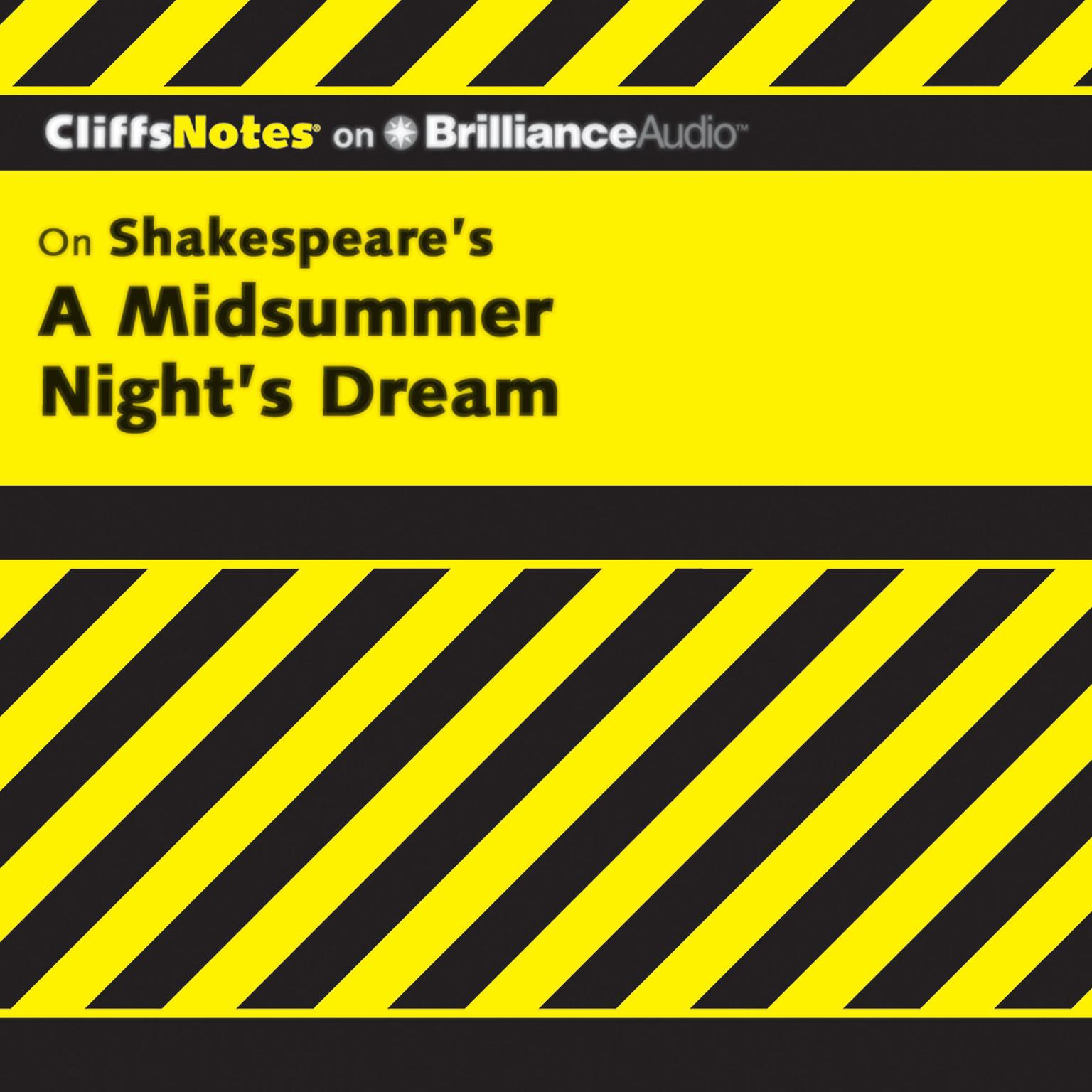 Printable On Shakespeare's A Midsummer Night's Dream Audiobook Cover Art