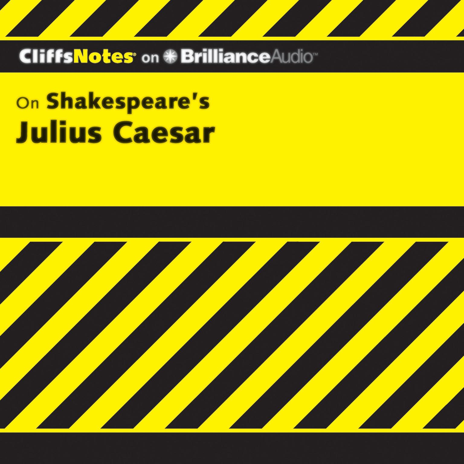 Printable On Shakespeare's Julius Caesar Audiobook Cover Art