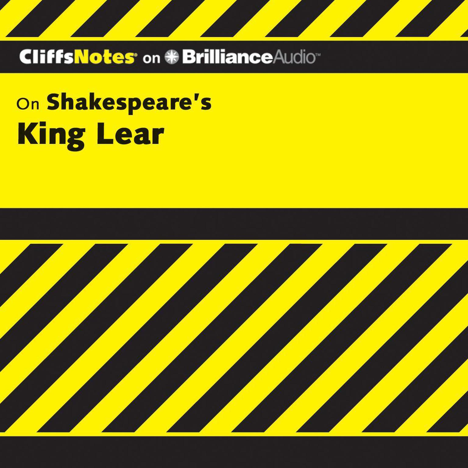 Printable On Shakespeare's King Lear Audiobook Cover Art