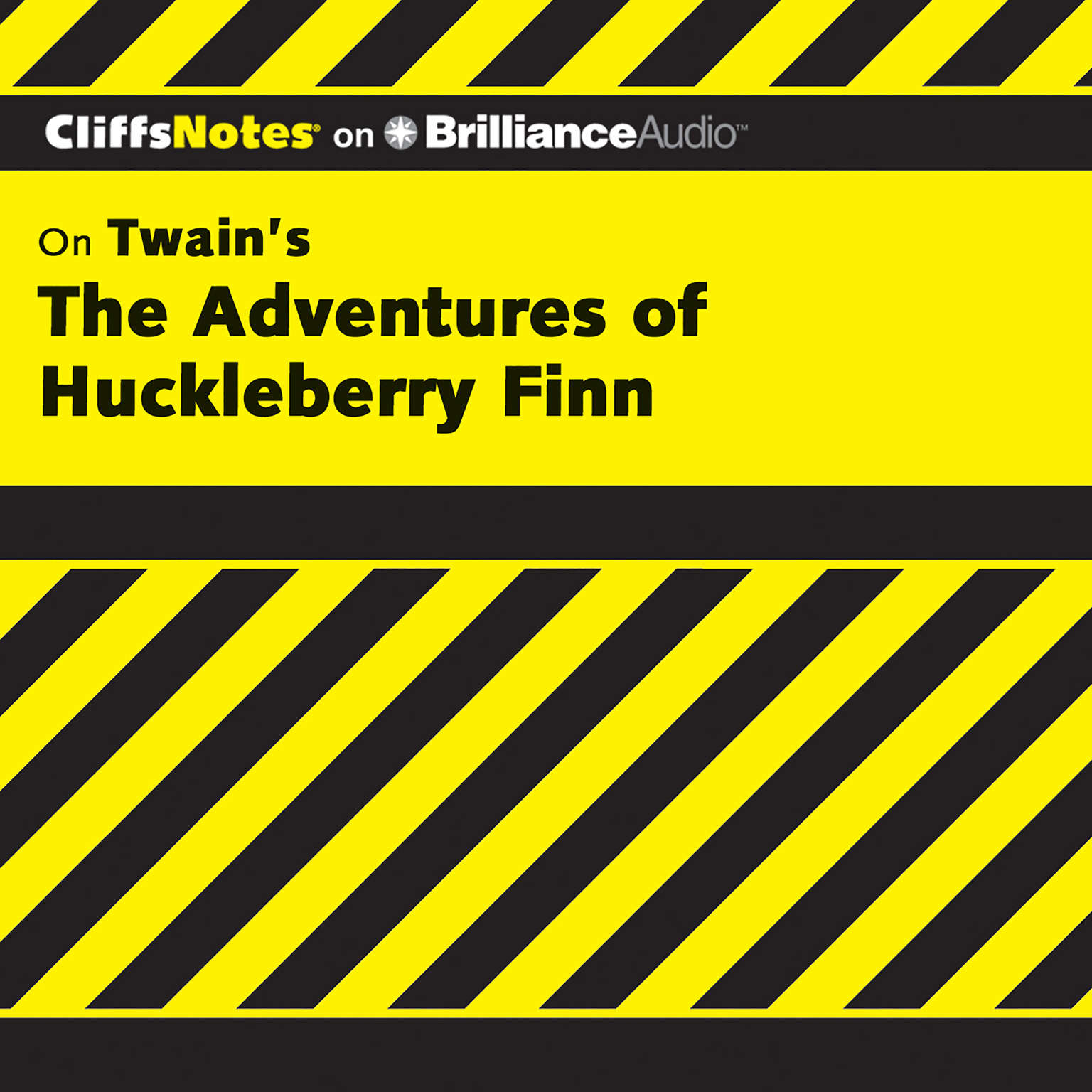 Printable The Adventures of Huckleberry Finn Audiobook Cover Art