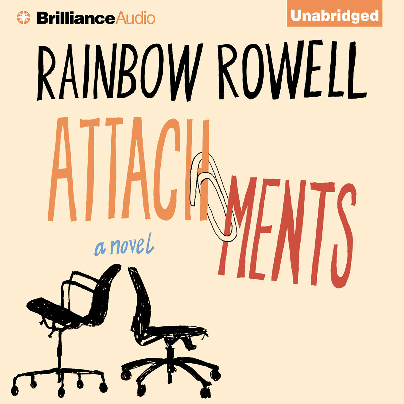 Printable Attachments: A Novel Audiobook Cover Art