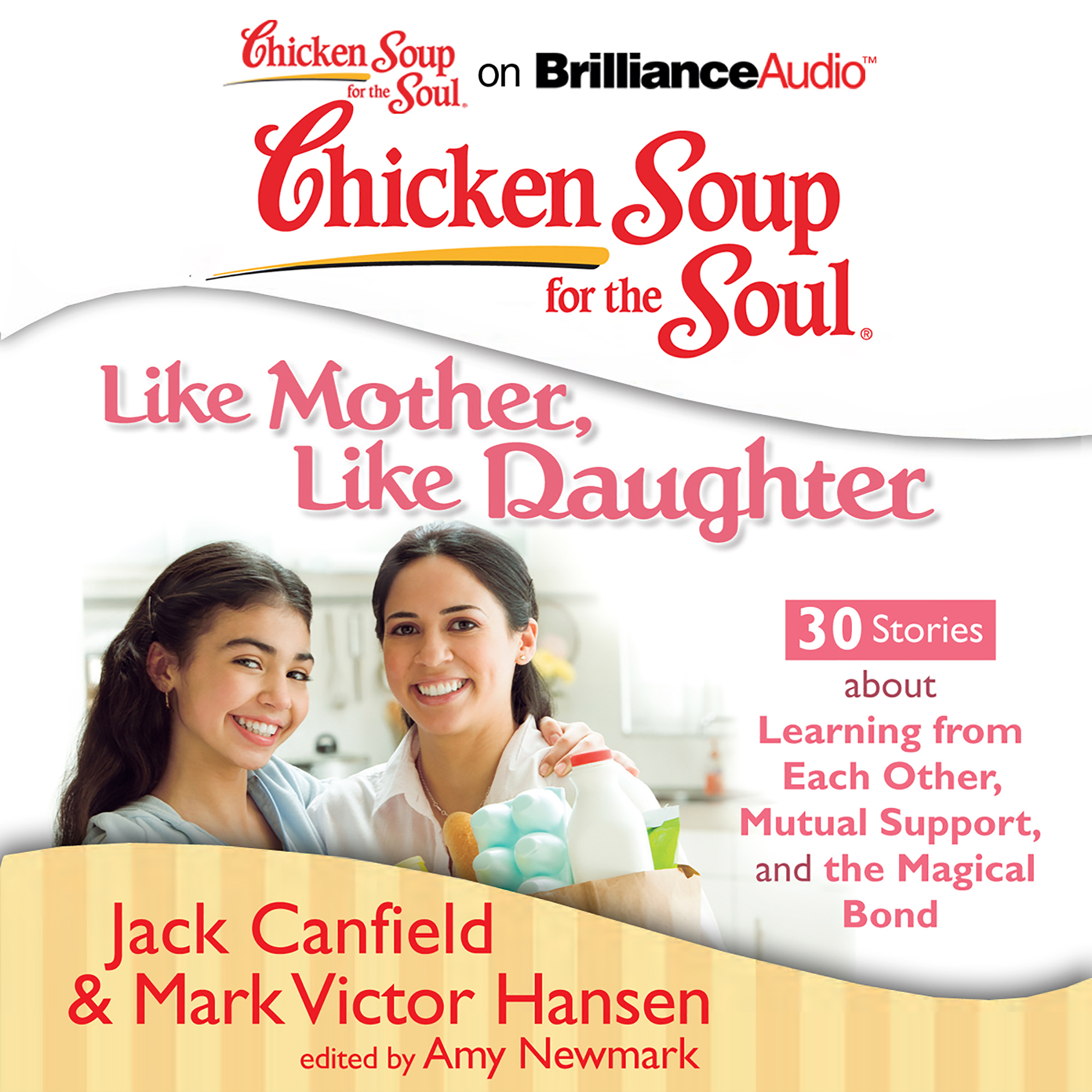 Printable Chicken Soup for the Soul: Like Mother, Like Daughter - 30 Stories about Learning from Each Other, Mutual Support, and the Magic Audiobook Cover Art