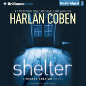 Shelter: A Mickey Bolitar Novel Audiobook, by Harlan Coben
