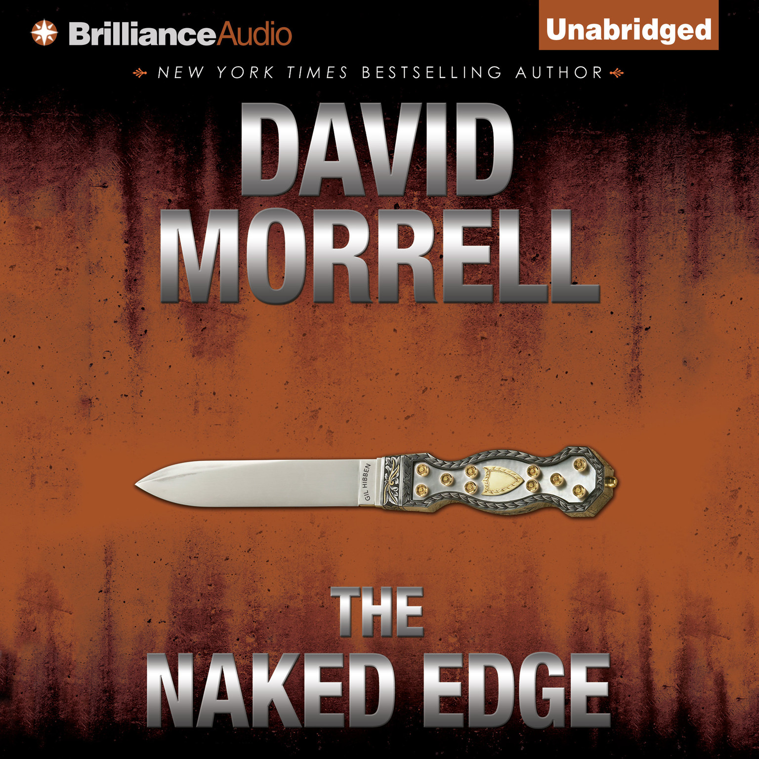 Printable The Naked Edge Audiobook Cover Art
