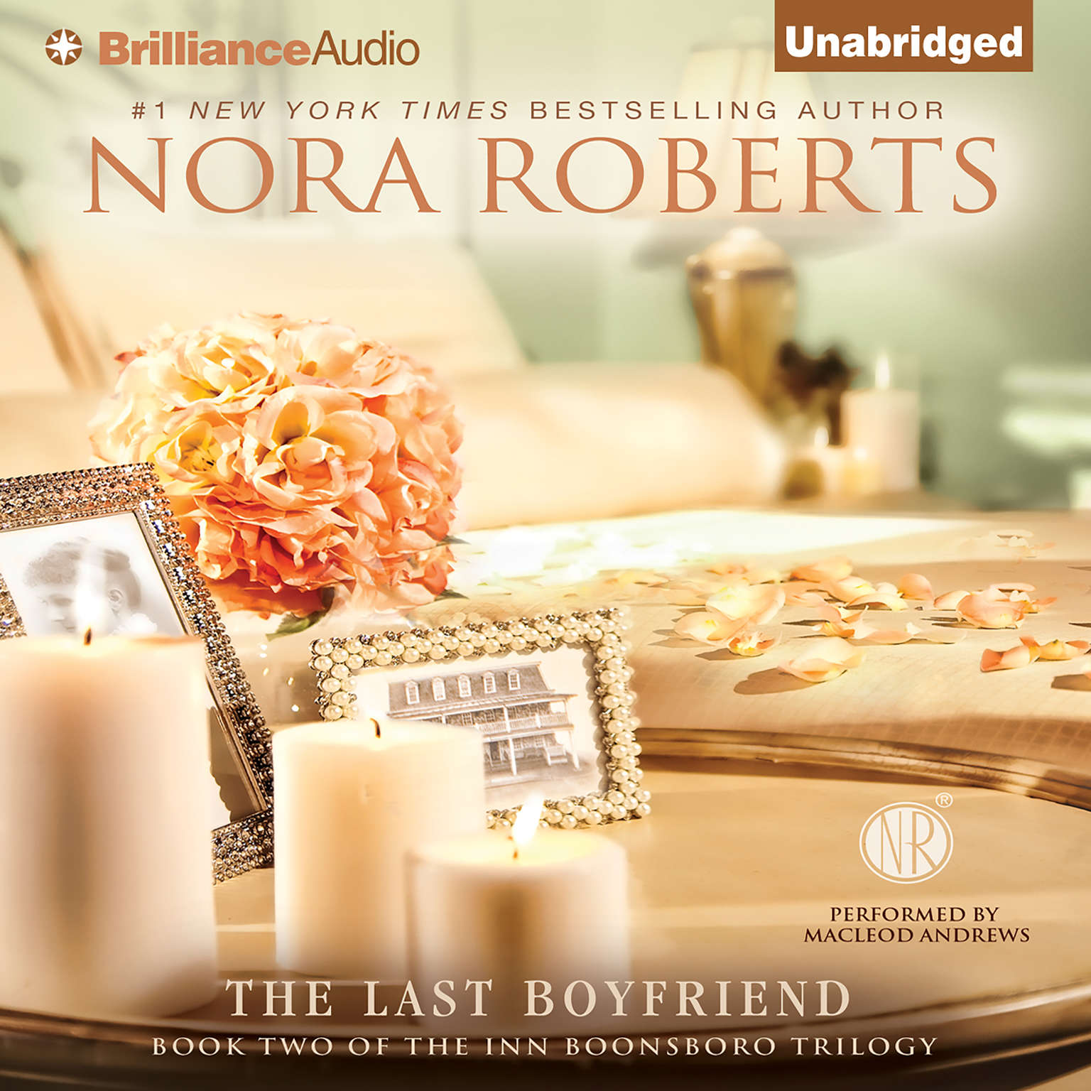 Printable The Last Boyfriend Audiobook Cover Art