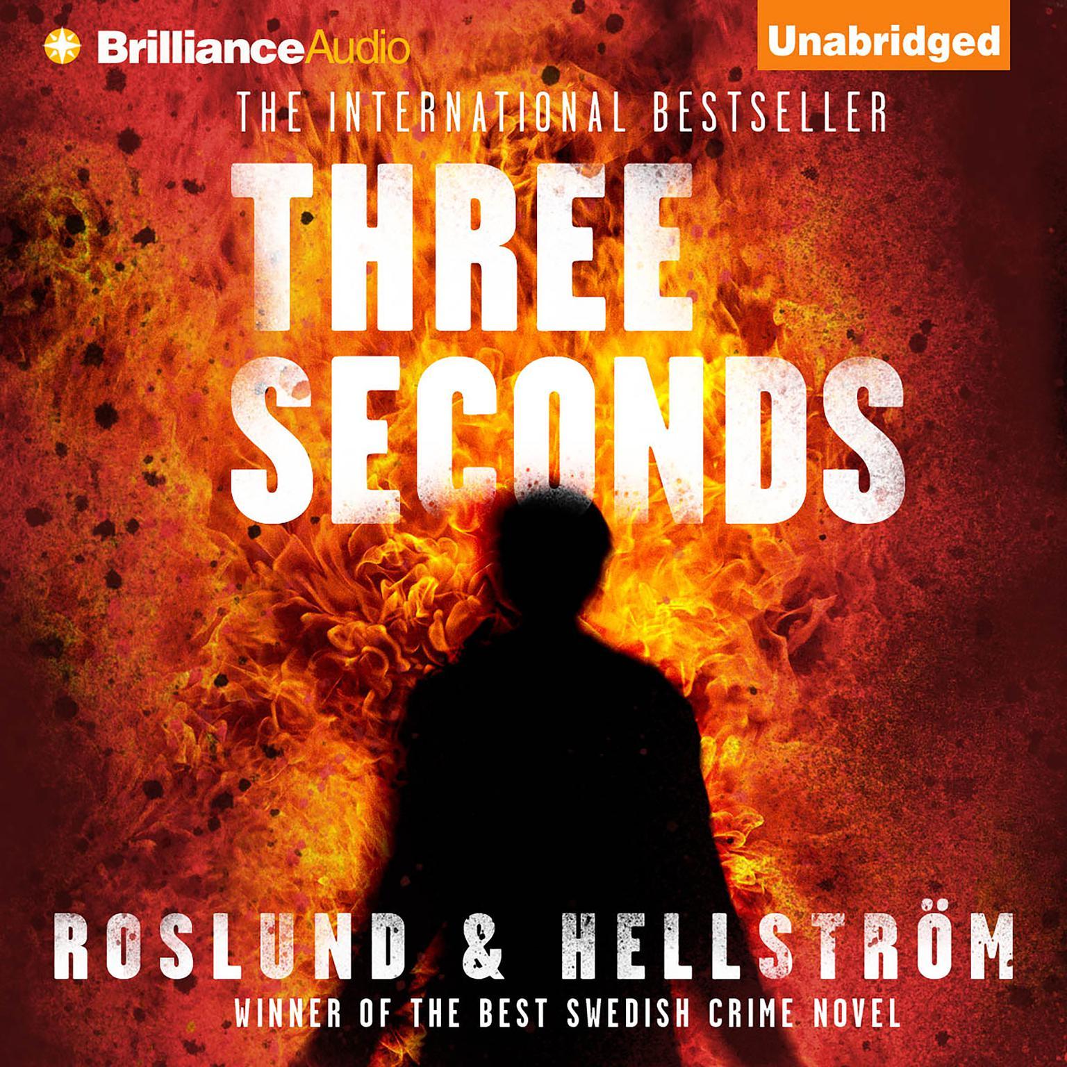 Printable Three Seconds Audiobook Cover Art