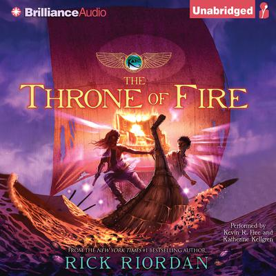 The Throne of Fire Audiobook, by Rick Riordan