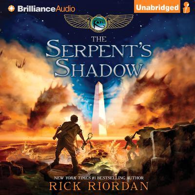 The Serpents Shadow Audiobook, by Rick Riordan