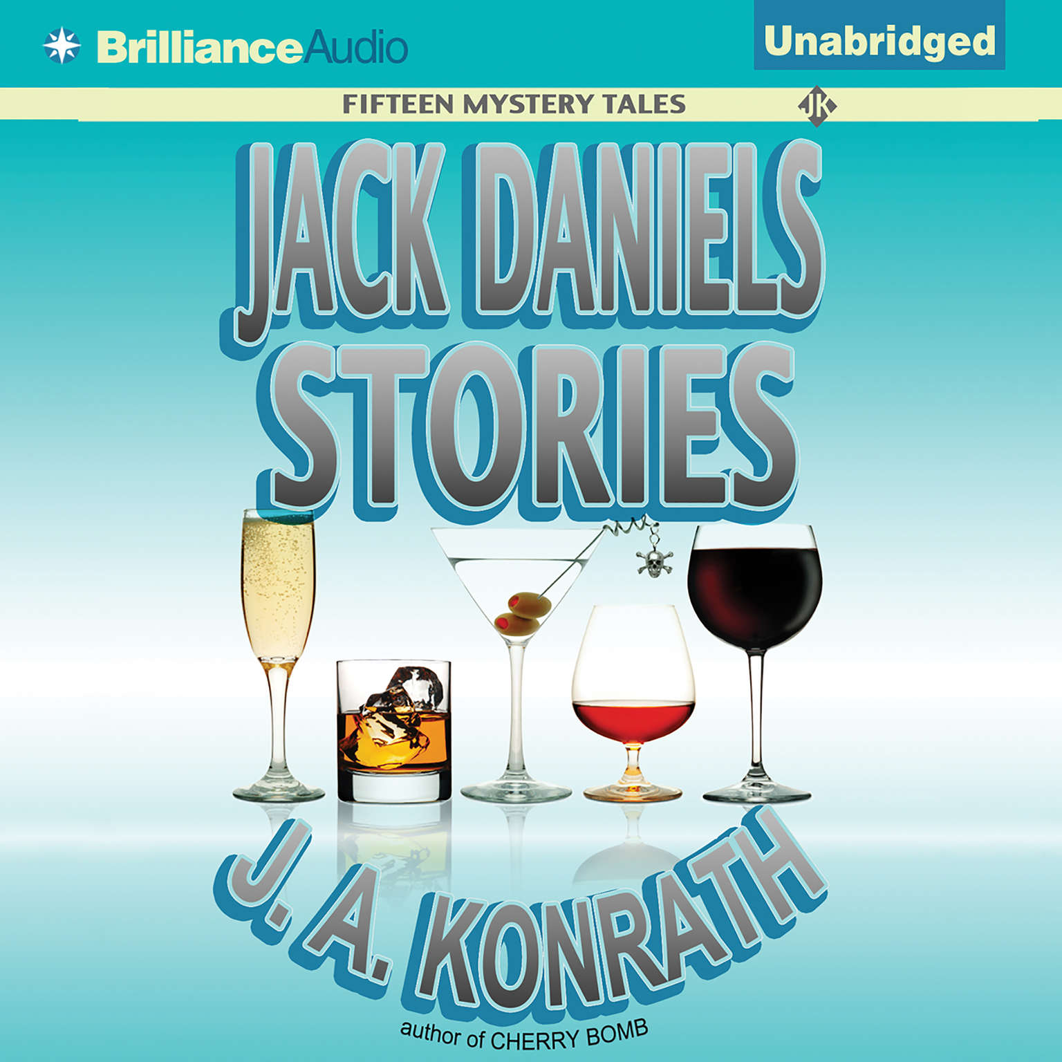 Printable Jack Daniels Stories: Fifteen Mystery Tales Audiobook Cover Art