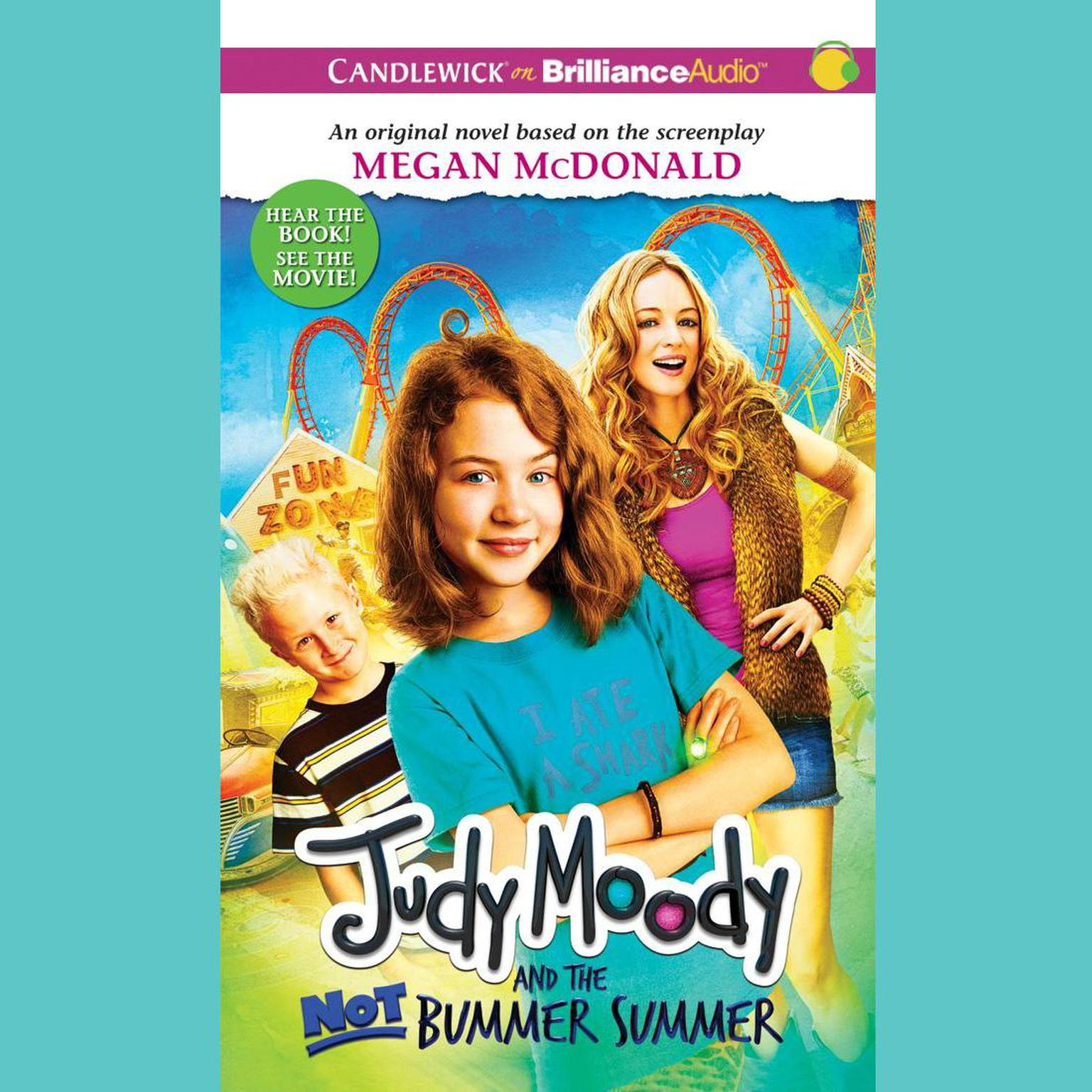 Printable Judy Moody and the Not Bummer Summer Audiobook Cover Art