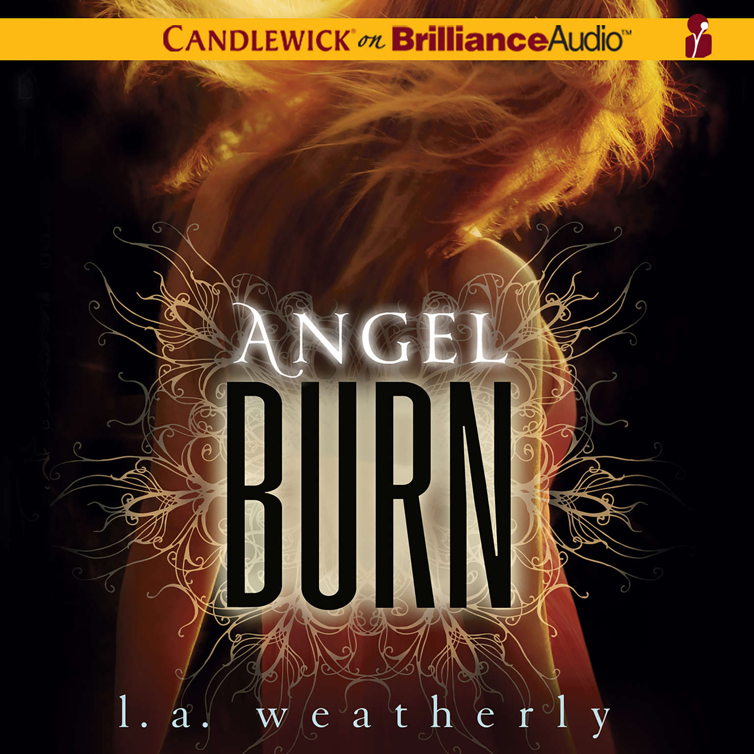 Printable Angel Burn Audiobook Cover Art