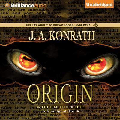 Origin: A Thriller Audiobook, by J. A. Konrath