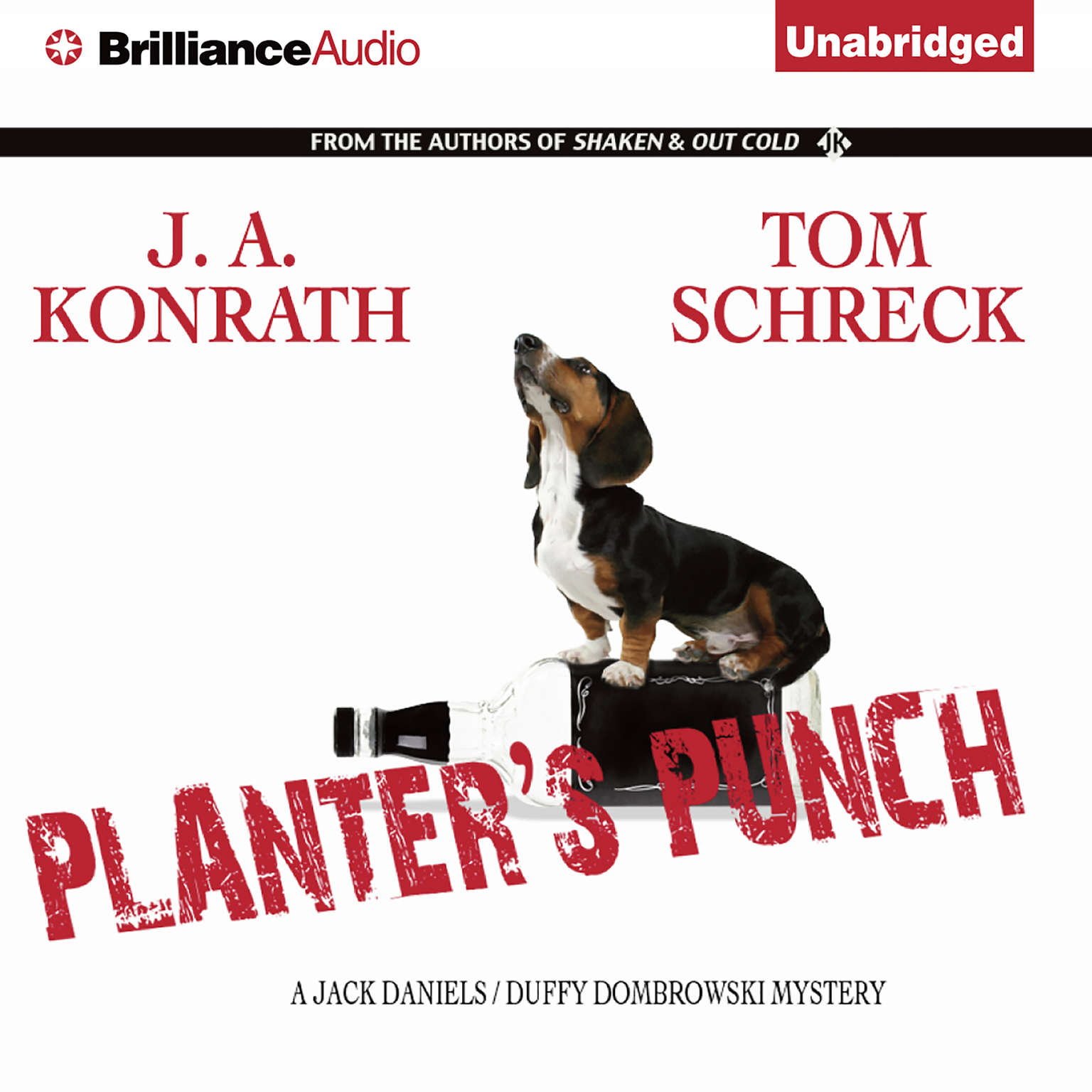 Printable Planter's Punch: A Jack Daniels/Duffy Dombrowski Mystery Audiobook Cover Art