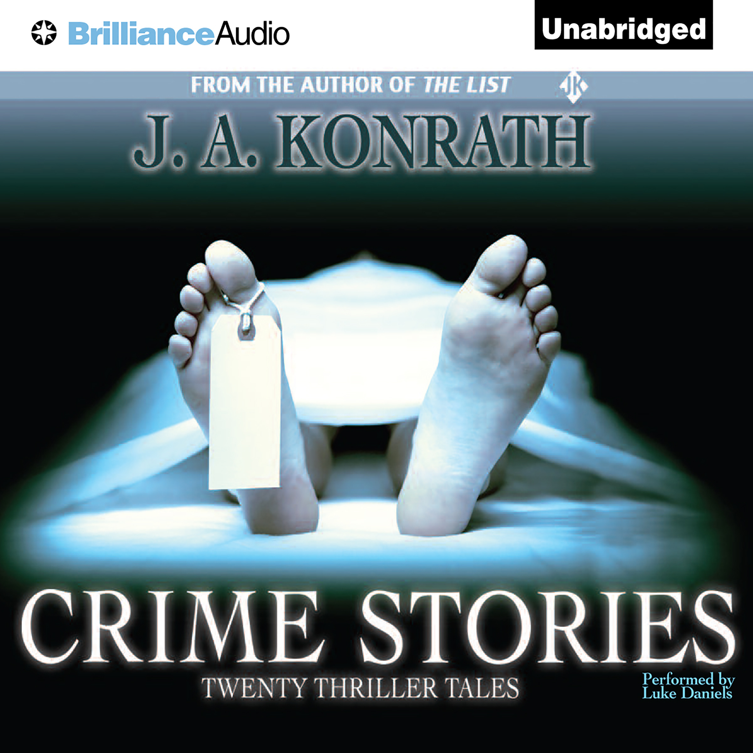 Printable Crime Stories: Twenty Thriller Tales Audiobook Cover Art
