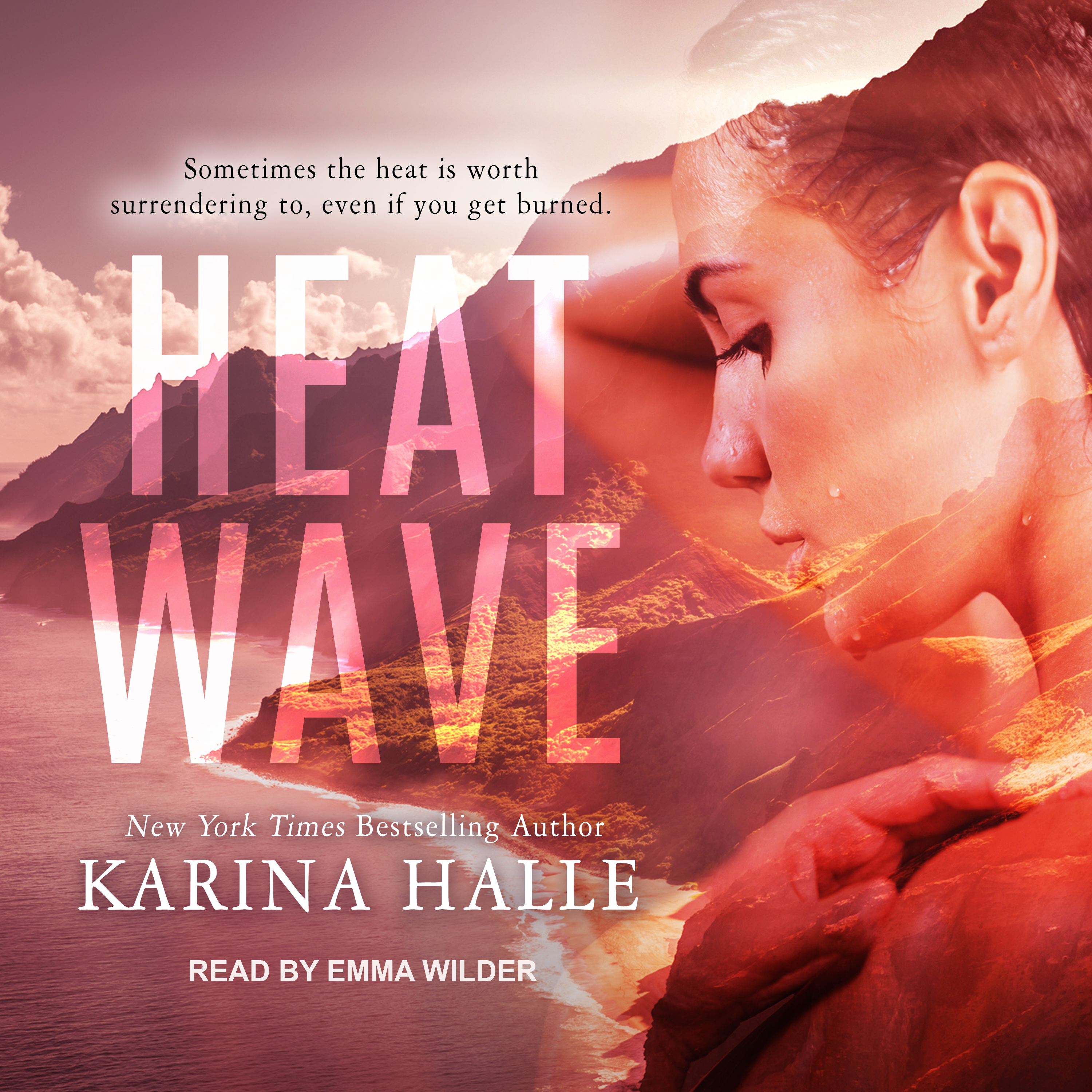 Printable Heat Wave Audiobook Cover Art