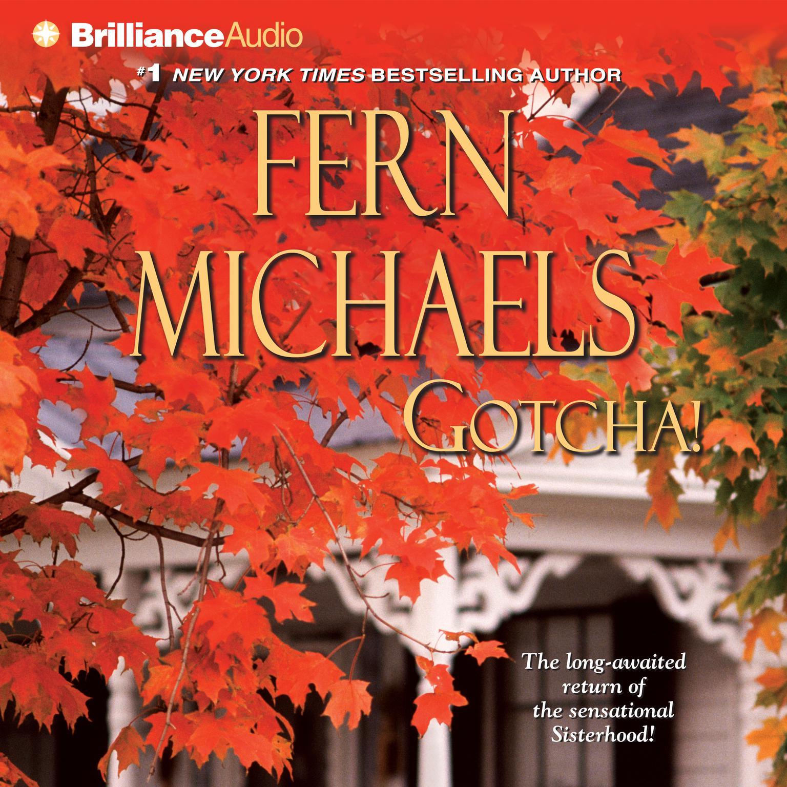 Printable Gotcha! Audiobook Cover Art